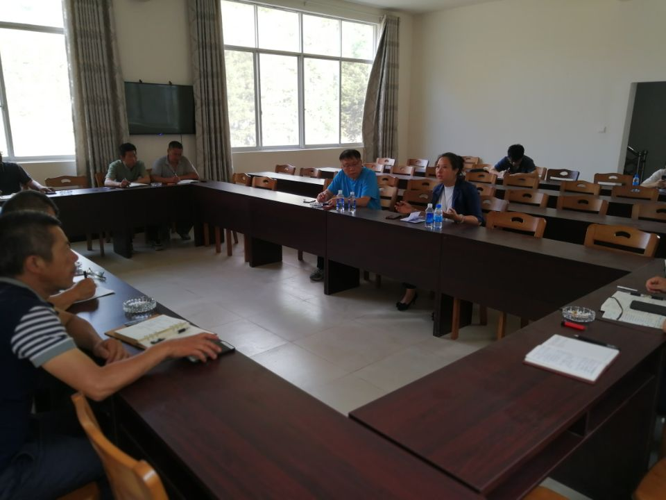 州三七和中医药发展中心副主任宋小川到洒卡进行中药材产业发展调研